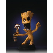 MARVEL ANIMATED STYLE GROOT & ROCKET RACOON STATUE (Net)
