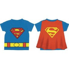 DC SUPERMAN LOGO CAPE T-S 5T (Net)