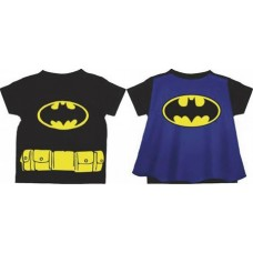 DC BATMAN LOGO CAPE T-S 3T (Net)
