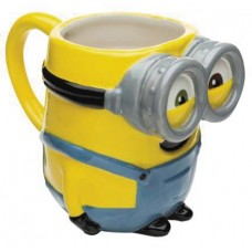 DESPICABLE ME 3 BOB MINION MOLDED CERAMIC MUG