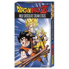 DRAGON BALL Z CHOCOLATE CREAM STICKS 12PC DIS