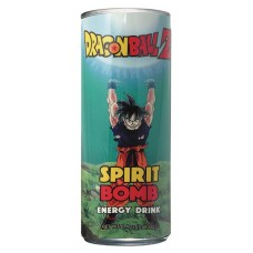DRAGON BALL Z SPIRIT BOMB ENERGY DRINK 24CT CASE