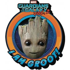 GOTG 2 BABY GROOT SMILE CHUNKY MAGNET