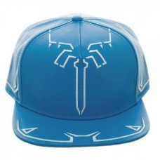 ZELDA BREATH OF THE WILD TUNIC PU LEATHER SNAPBACK