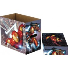 MARVEL IRON MAN FLIGHT 5 PK SHORT COMIC STORAGE BOX