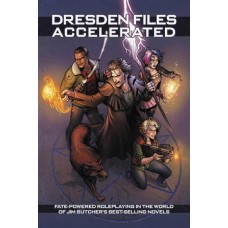 DRESDEN FILES ACCELERATED RPG HC