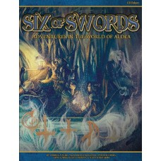 BLUE ROSE RPG SIX OF SWORDS SC