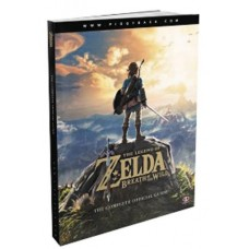 LEGEND OF ZELDA BREATH OF THE WILD STRATEGY GUIDE SC
