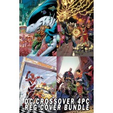 DC X-OVER SPECIALS REGULAR COVER 4 PC SET BUNDLE
