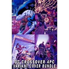 DC X-OVER SPECIALS VARIANT COVER 4 PC SET BUNDLE