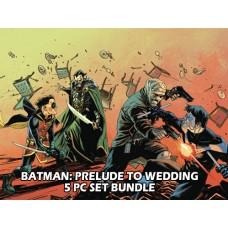 BATMAN PRELUDE TO WEDDING ONE-SHOT 5 PC SET BUNDLE