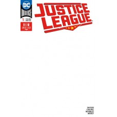 JUSTICE LEAGUE #1 BLANK VARIANT