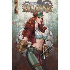 LEGENDERRY RED SONJA #5 (OF 5) CVR A BENITEZ