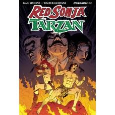 RED SONJA TARZAN #2 CVR B GEOVANI