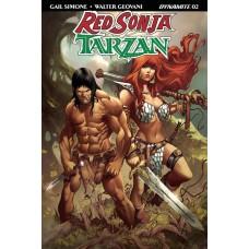 RED SONJA TARZAN #2 CVR C DAVILA