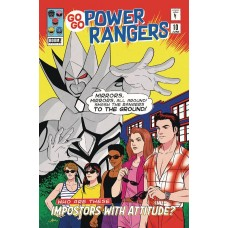 GO GO POWER RANGERS #10 SUBSCRIPTION MOK VARIANT SG