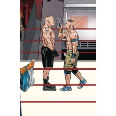 WWE #18 SCHOONOVER RAW CONNECTING VARIANT