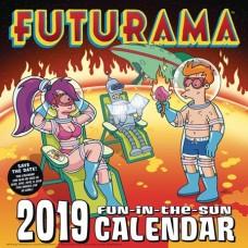 FUTURAMA 2019 CALENDAR