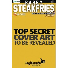 BARRY STEAKFRIES #1 CVR C SO EXPENSIVE GOLDEN LOGO BLANK SKE
