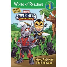 WORLD OF READING MEET ANT-MAN AND THE WASP SC