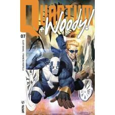 QUANTUM & WOODY (2017) #7 CVR A OLIVETTI