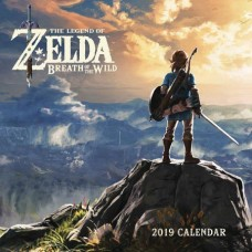 LEGEND OF ZELDA BREATH OF WILD 2019 WALL CALENDAR