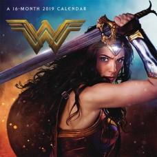 WONDER WOMAN MOVIE 2019 WALL CAL