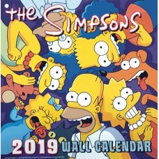SIMPSONS 2019 WALL CAL