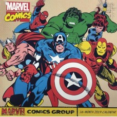 MARVEL COMICS RETRO 2019 WALL CALENDAR
