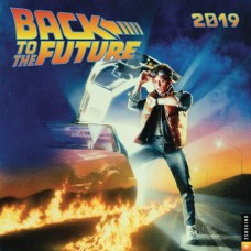 BACK TO THE FUTURE 2019 WALL CALENDAR