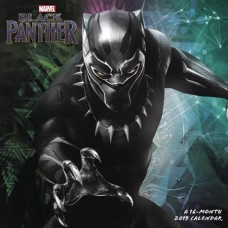 BLACK PANTHER MOVIE 2019 WALL CAL