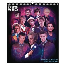 DOCTOR WHO SPECIAL ED 2019 WALL CALENDAR