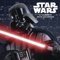 STAR WARS SAGA 2019 WALL CALENDAR