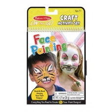 MELISSA & DOUG ON THE GO CRAFTS FACE PAINTING