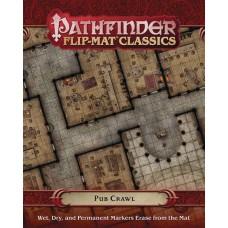 PATHFINDER FLIP MAT CLASSICS PUB CRAWL