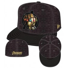AVENGERS IW AVENGERS LOGO GAUNTLET 5950 FITTED CAP 7 5/8