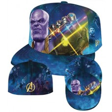 AVENGERS IW THANOS INFINITY GAUNTLET 5950 FITTED CAP 7 3/8