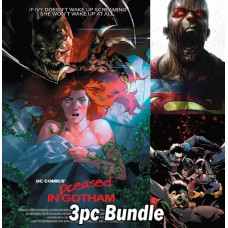 DCEASED #2 REG VAR AND HORROR VARIANT 3PC BUNDLE