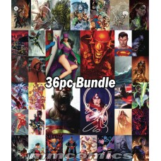 DC COVER B VARIANT FROM APRIL PREVIEWS 36PC BUNDLE