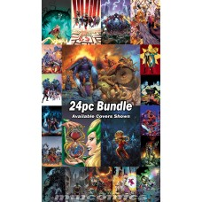 WAR OF REALMS #5 #6 PLUS REGULAR COVER TIE IN ISSUES 24PC BUNDLE