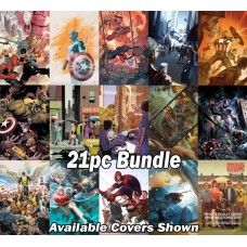 MAVEL ASSORTED TITLES 25TH TRIBUTE VARIANT 21PC BUNDLE