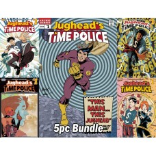 JUGHEAD TIME POLICE #1 (OF 5) CVR A B C D E 5PC BUNDLE