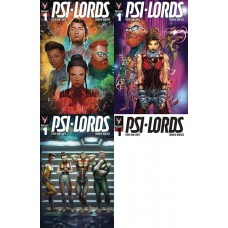 PSI-LORDS #1 CVR A B C D 4PC BUNDLE