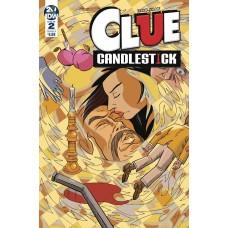 CLUE CANDLESTICK #2 CVR A SHAW