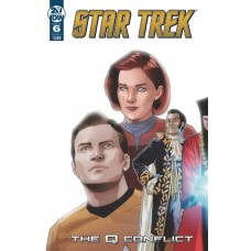 STAR TREK Q CONFLICT #6 (OF 6) CVR A MESSINA