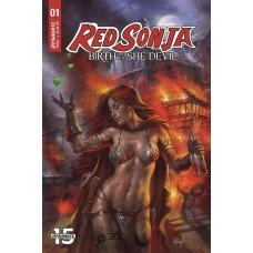 RED SONJA BIRTH OF SHE DEVIL #1 CVR A PARRILLO