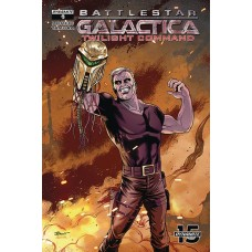 BATTLESTAR GALACTICA TWILIGHT COMMAND #5 CVR A SCHOONOVER