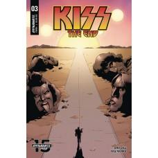 KISS END #3 CVR B COLEMAN