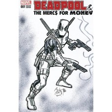 DF DEADPOOL THE MERCS FOR MONEY #1 SGN RMRK KONG