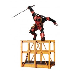MARVEL SUPER DEADPOOL ARTFX STATUE 2ND EDITION VER (Net) (C: